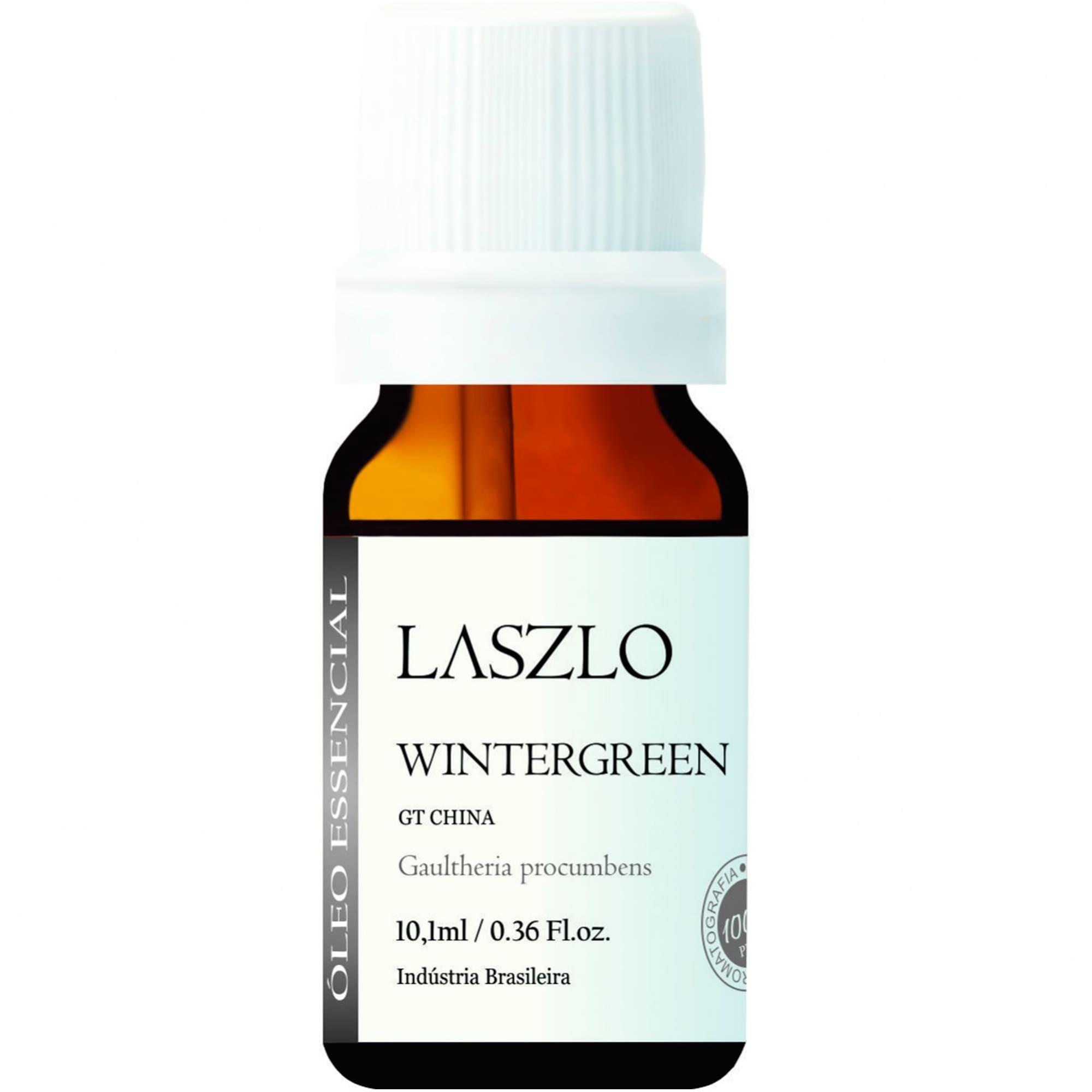 Óleo Essencial de Wintergreen (GT China) 10,1ml - Laszlo