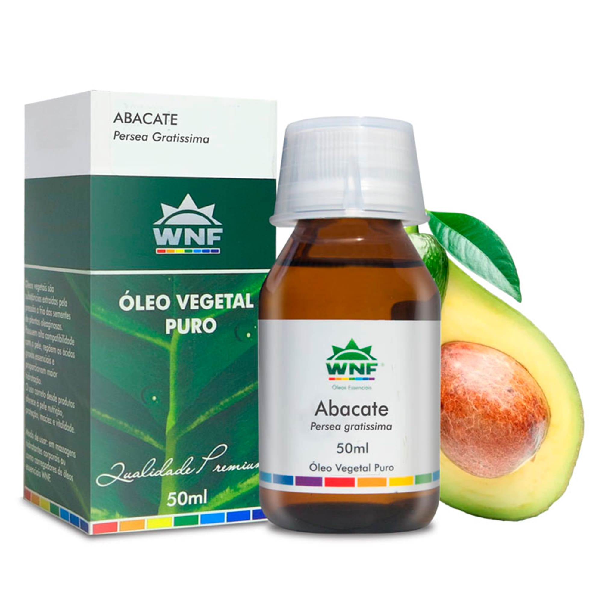 Óleo Vegetal Natural de Abacate 50ml – WNF