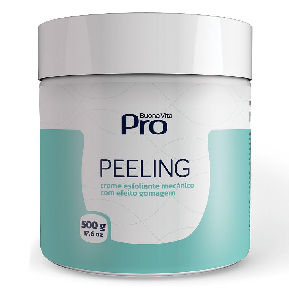 Peeling - Creme Esfoliante Mecânico com Efeito Gomagem 500g   Buona Vita Cosméticos