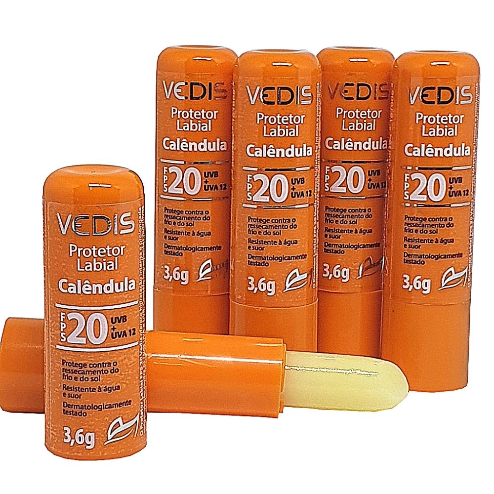 Protetor Hidratante Labial Fps 20 3,6g - Vedis