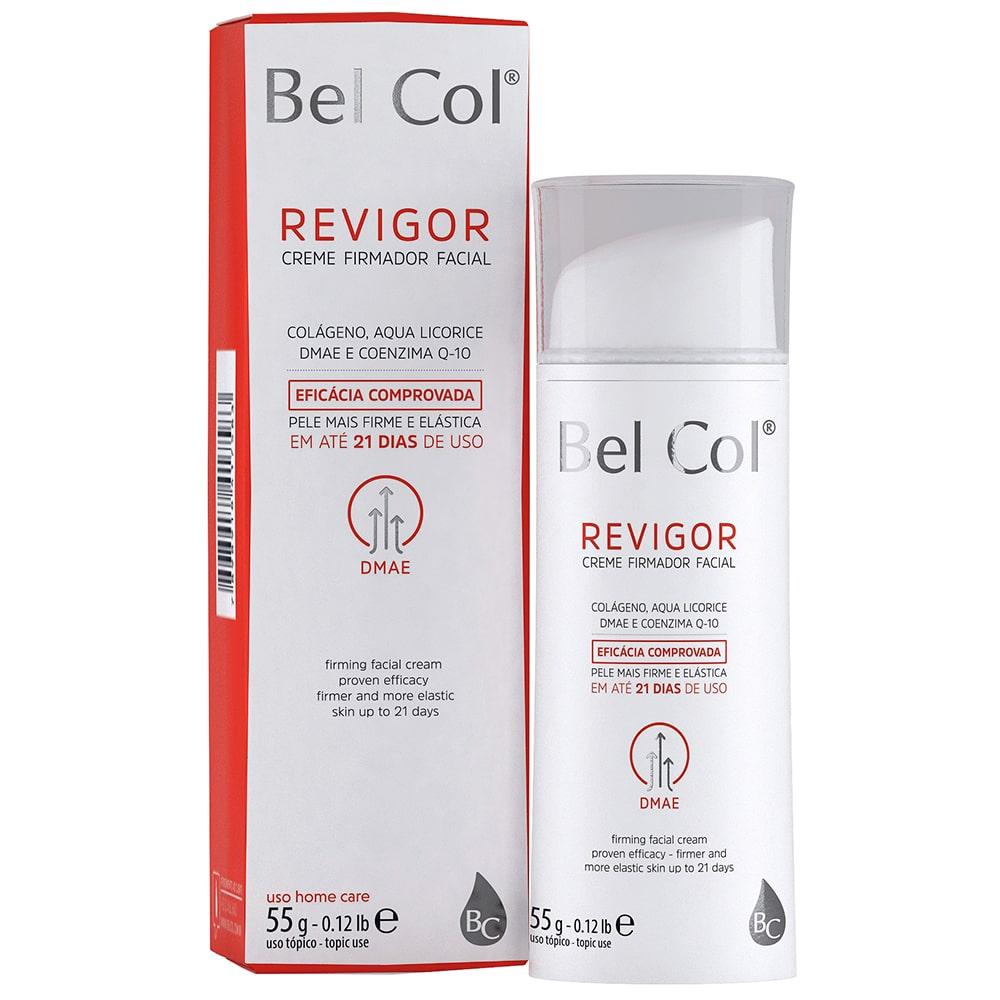 Revigor - Creme firmador facial com DMAE 55 g | Bel Col Cosméticos