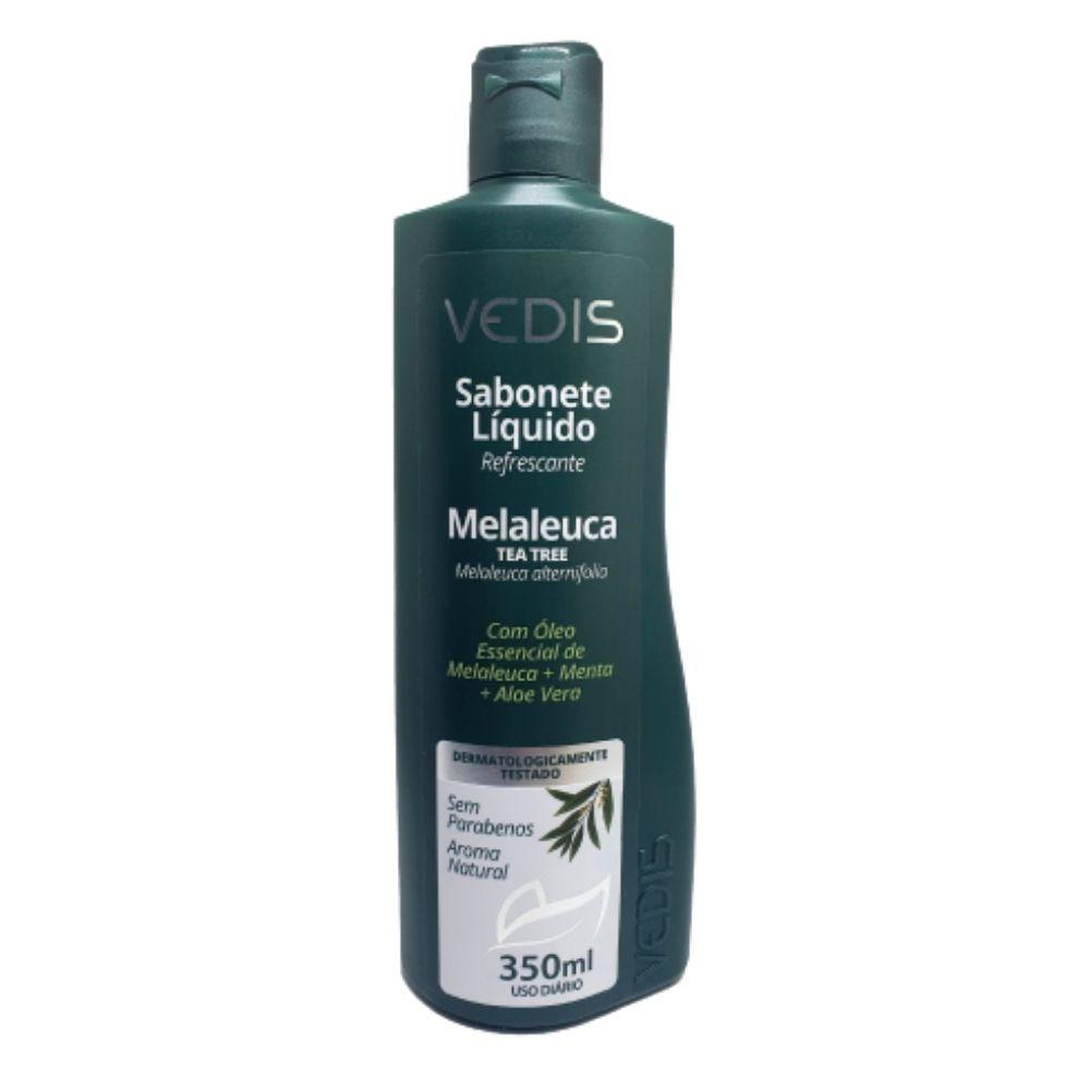 Sabonete Líquido com Óleo Essencial de Melaleuca 350ml - Vedis