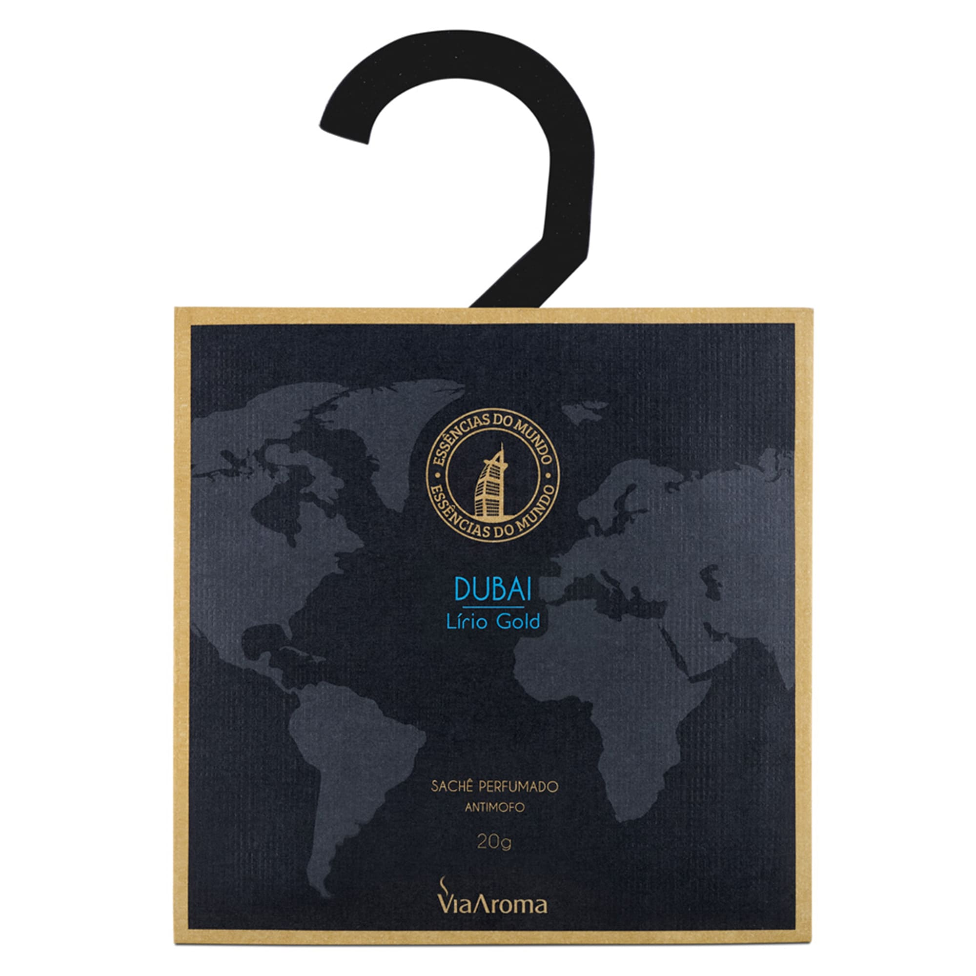 Sachê Perfumado 20g - Dubai, Lírio Gold