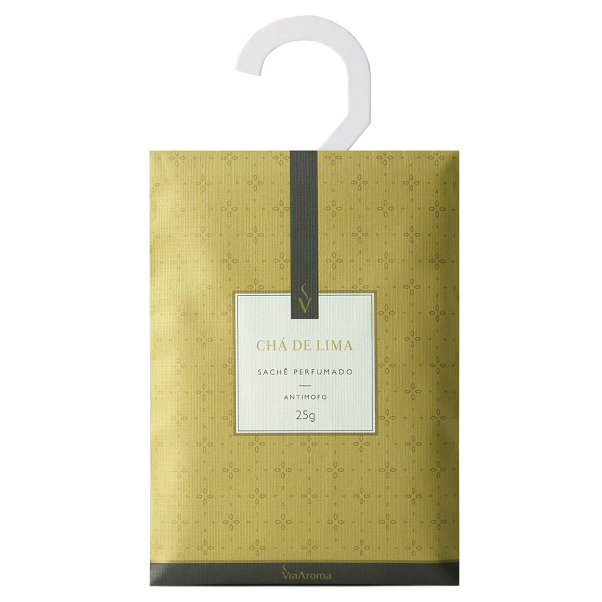 Sache Perfumado Chá de Lima 10g - Via aroma