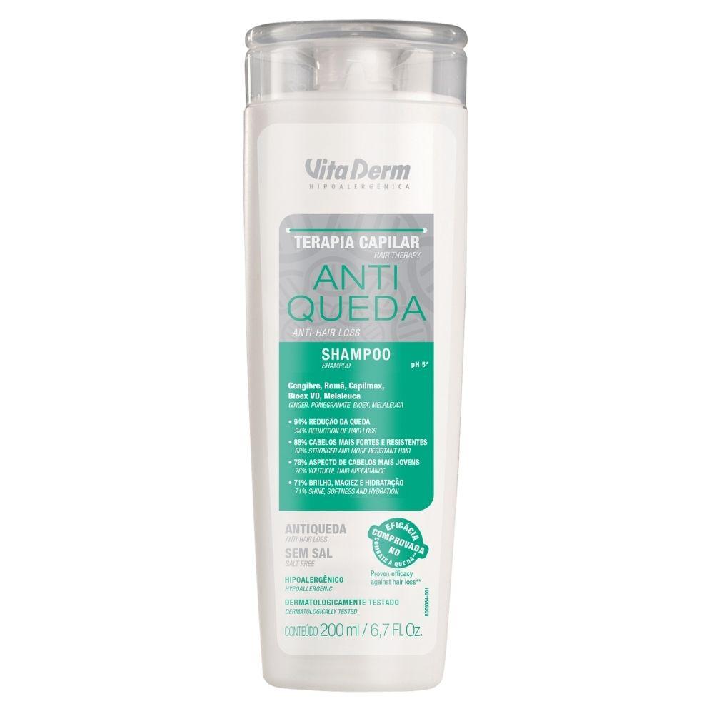 Shampoo Anti Queda 200ml - Vita Derm