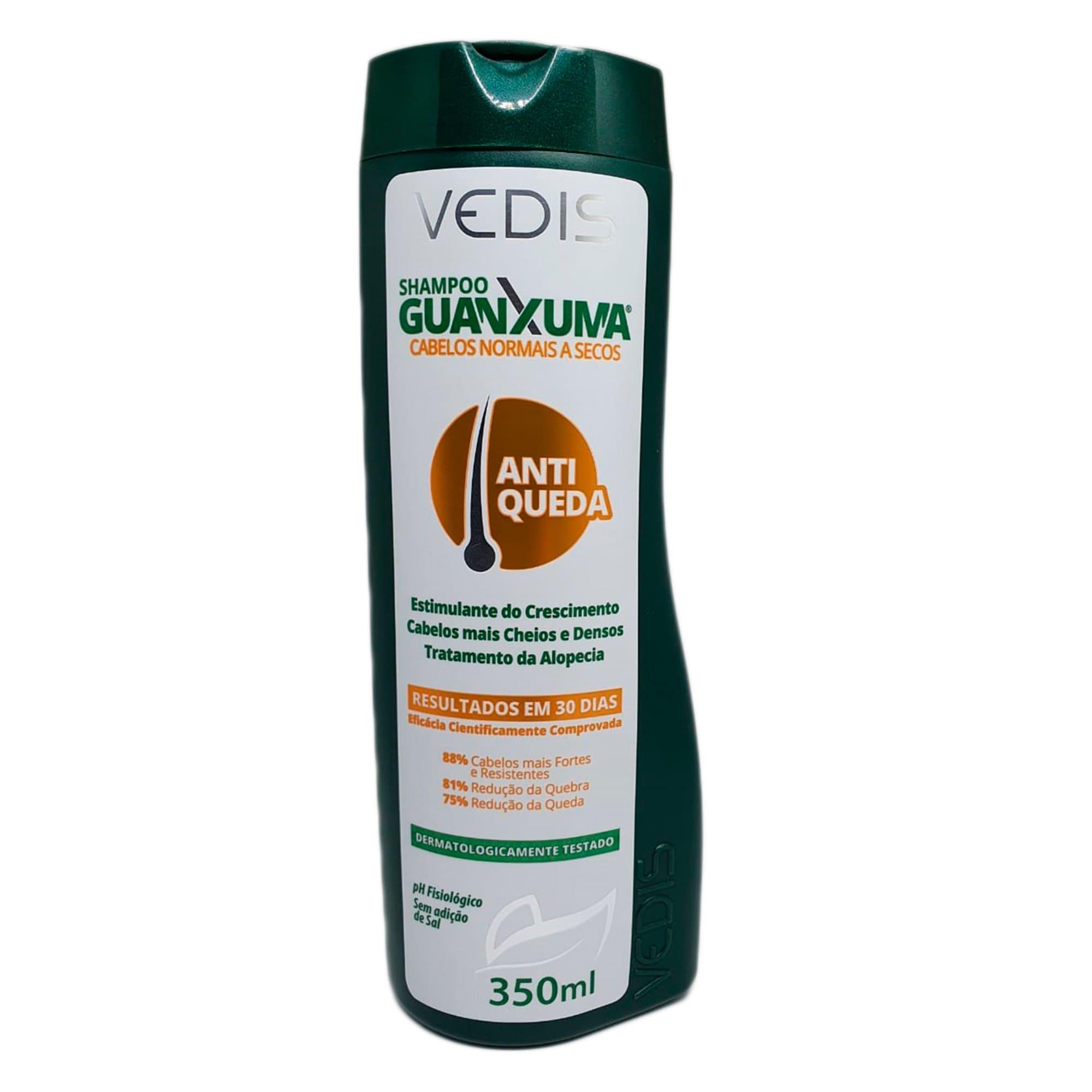 Shampoo Guanxuma (Cabelos Normais e Secos) 350ml - Vedis