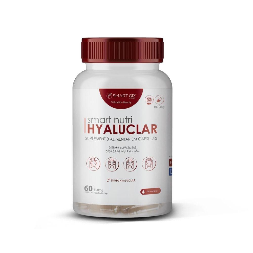 Smart Nutri Hyaluclar 60caps - 500mg - Smart GR