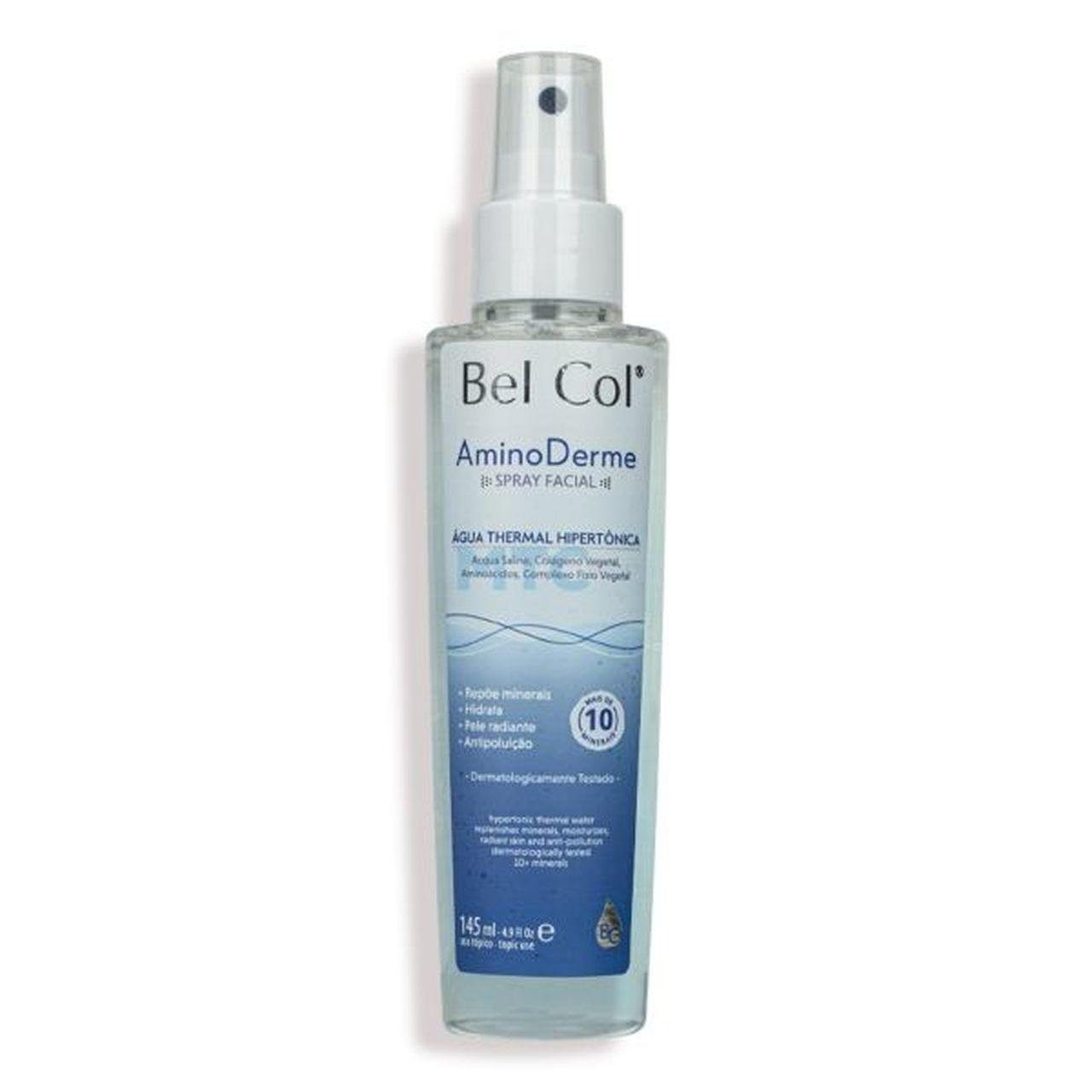 Spray Facial Aminoderme 145ml | Bel Col Cosméticos