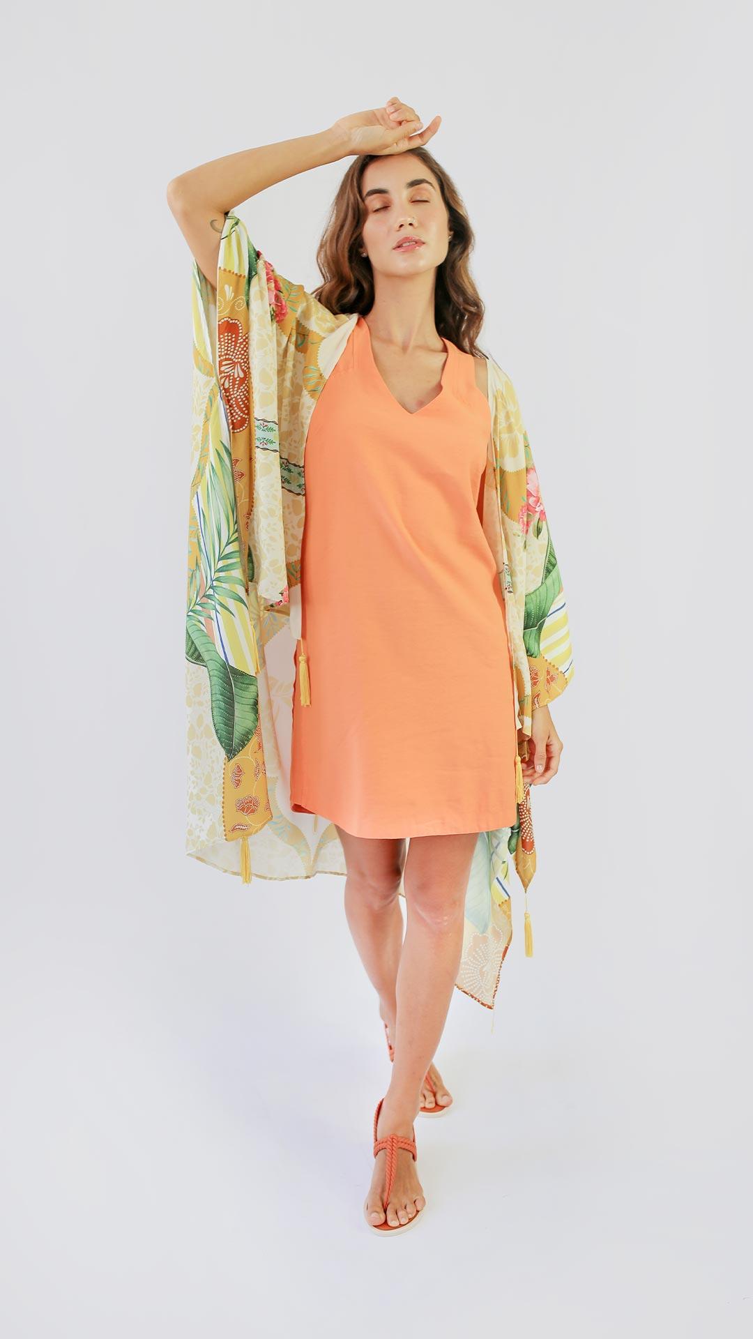 Kimono Tropical Chique