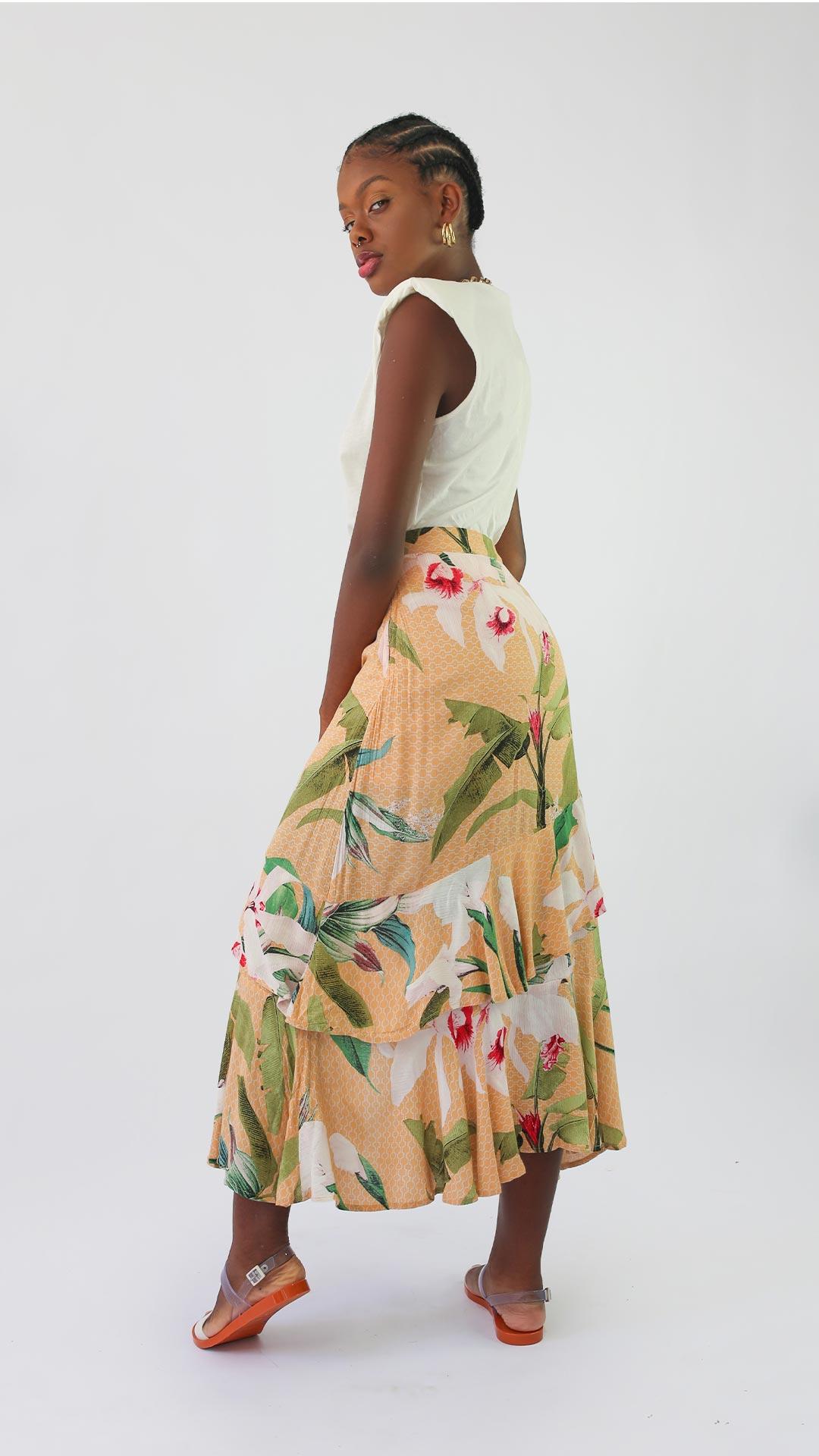 Saia Orquídea