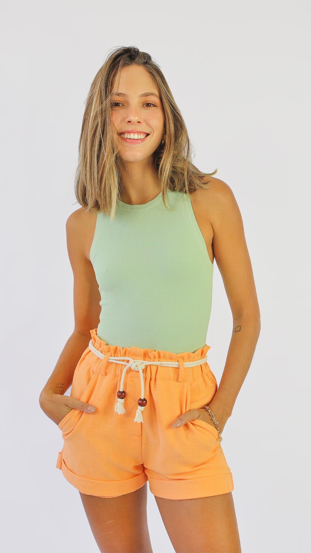Short Tangerina