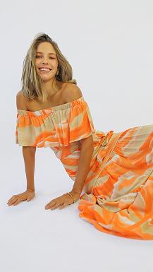 Vestido Alegria [ longo ]