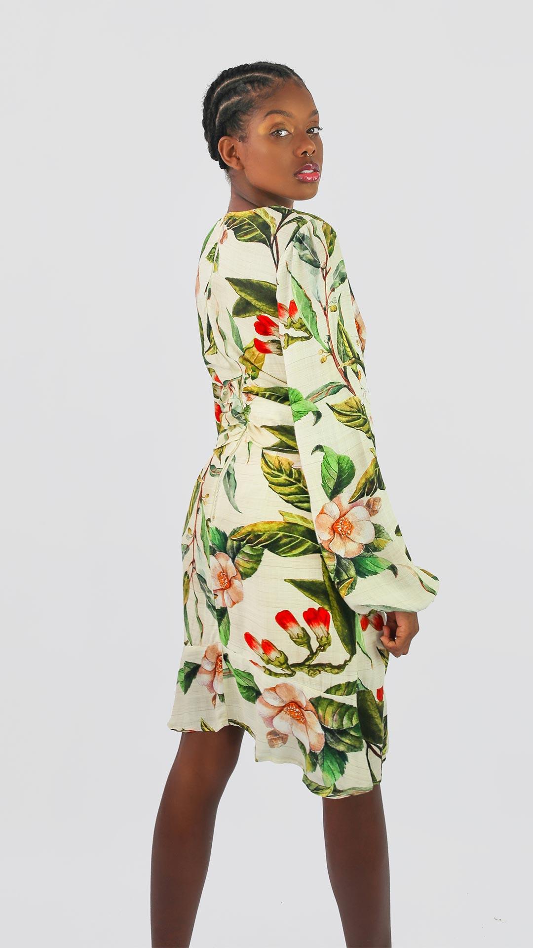 Vestido Floral Chic