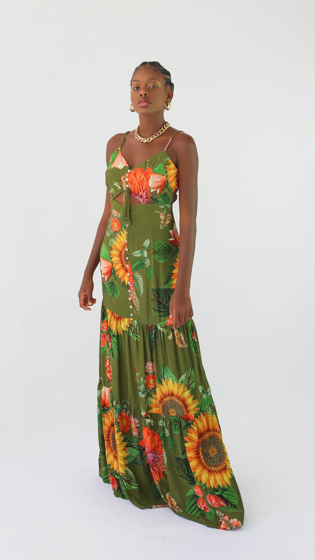 Vestido Girassol [ Longo ]