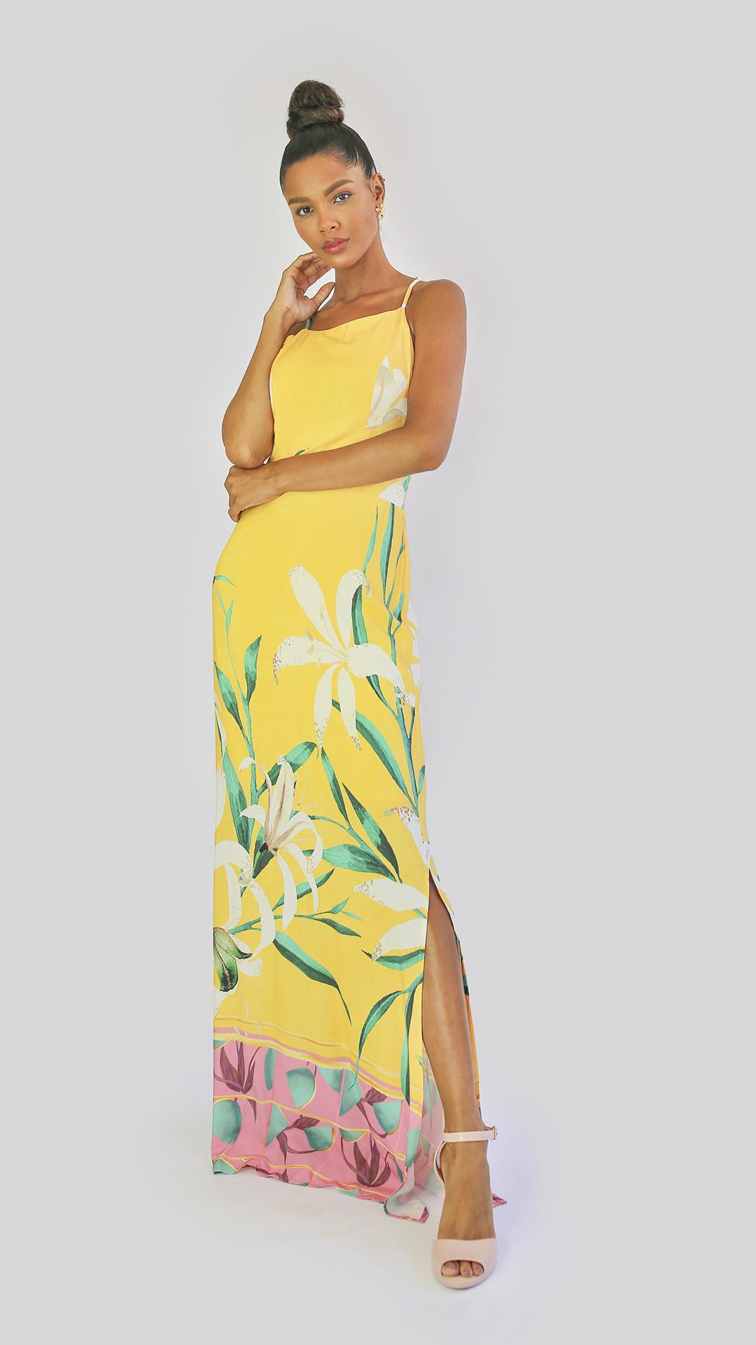 Vestido Lavanda [longo]