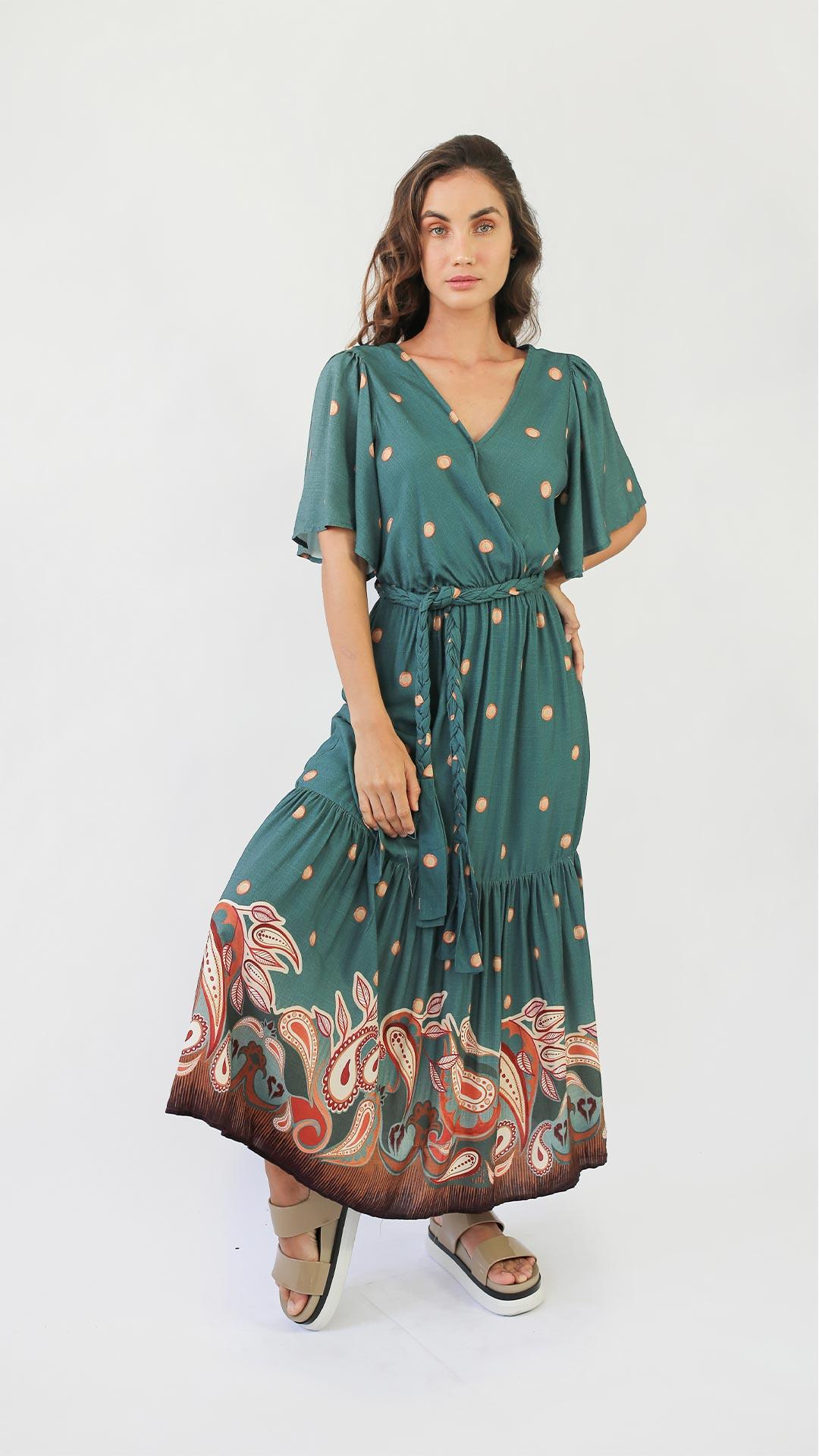 Vestido Lenço [LONGO]