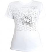 Camisa Honda Feminina GoldWing Futurista