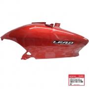 Carenagem Traseira Esquerda Vermelha Lead 110 2011 Original Honda 83605GFM600ZE