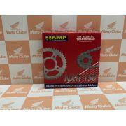 Kit Relação Transmissão NXR  Bros 150 Original Honda H0640KRE900