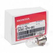 Lampada Farol Biz 125  Biz 110 Biz 100  Pop 100 Nxr Bros 125 Nxr Bros 150 Original Honda 34901KPH881