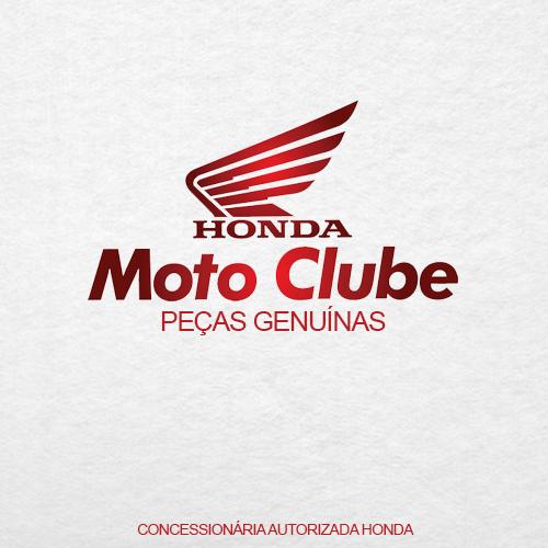 Boné Aba Curvada Honda Silk Branco/Preto/Vermelho