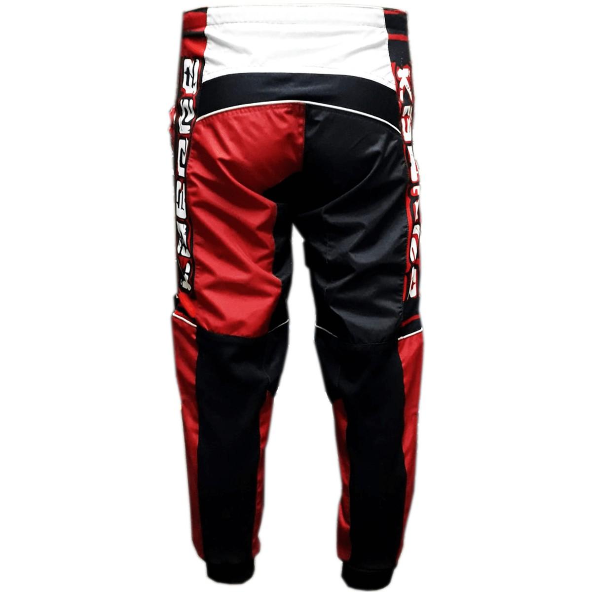 Calça Off Road Motocross Trilha Kaerre Vermelha