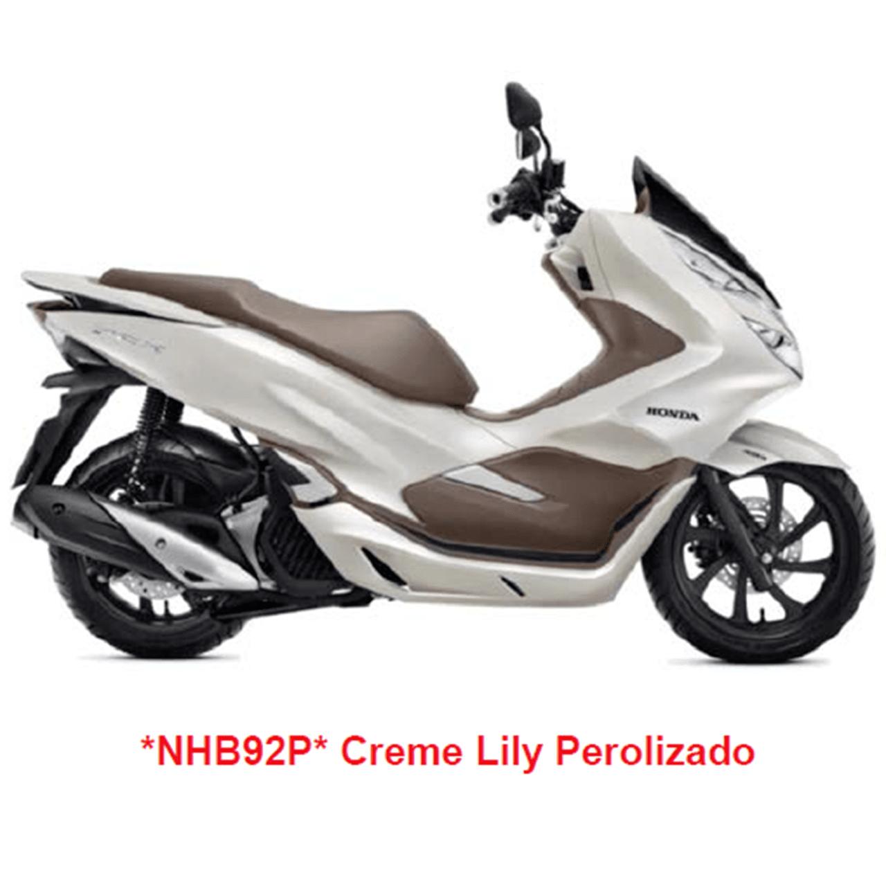 Carenagem Dianteira Direita Bege Pcx 150 2019 Original Honda 64500K97B00ZA