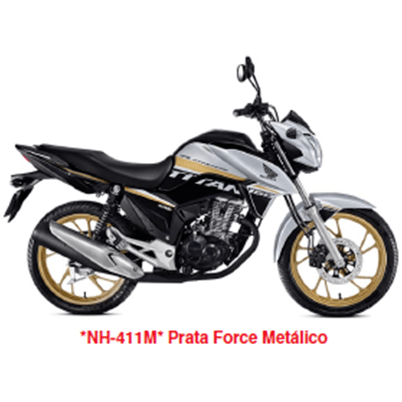 Carenagem Esquerda Tanque CG TITAN 160 EX 2019 Original Honda 64300KVSN40ZA