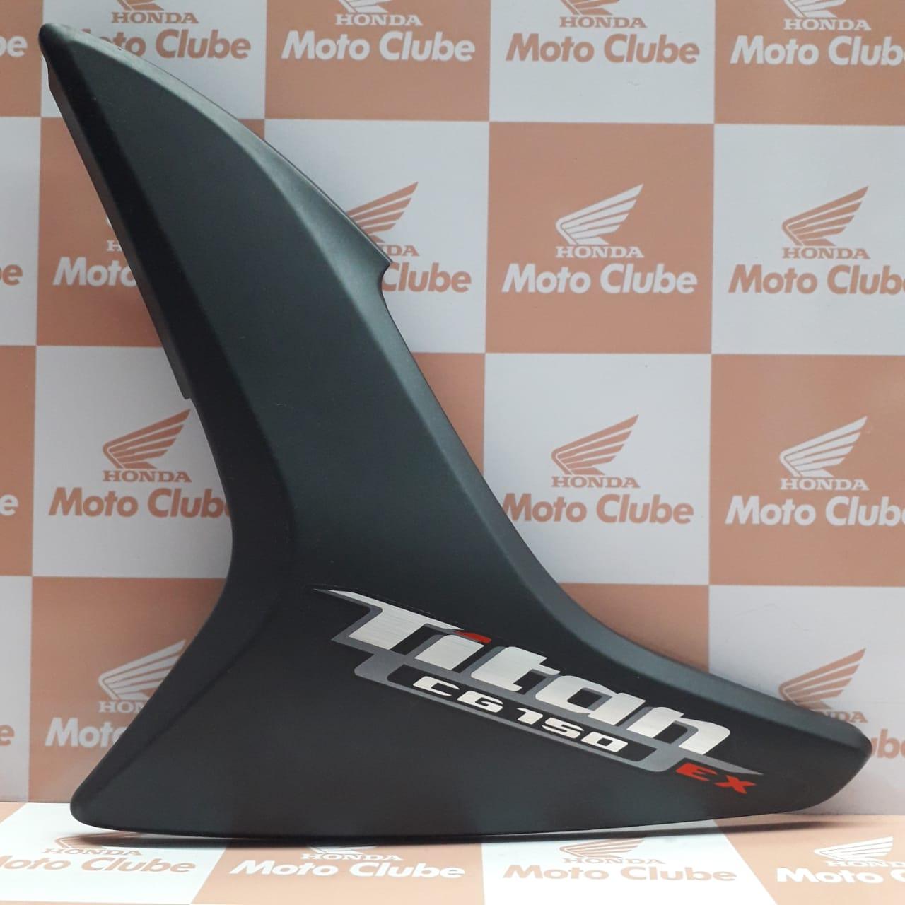 Carenagem Lateral Esquerda CG 150 TITAN EX 2012 Original Honda 83620KVSE00ZA