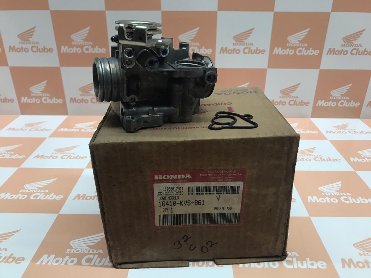 Corpo de Acelerador Fan 150 Original Honda 16410KVS861