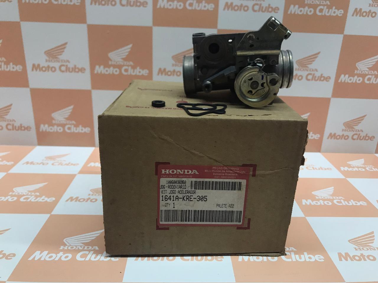 Corpo de Acelerador NXR Bros 150 Original Honda 1641AKRE305