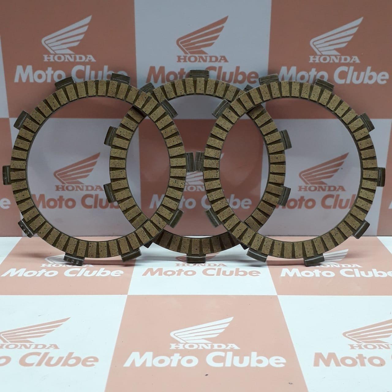 Discos Embreagem CBR 600F FA 2012 2013 2014 Original Honda
