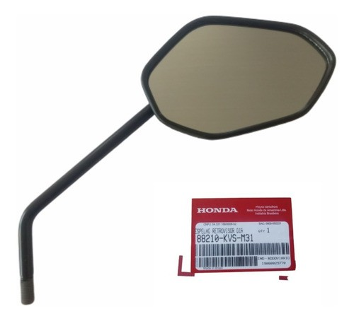 Espelho Retrovisor Direito  Titan  160 Original Honda 88210KVSM31