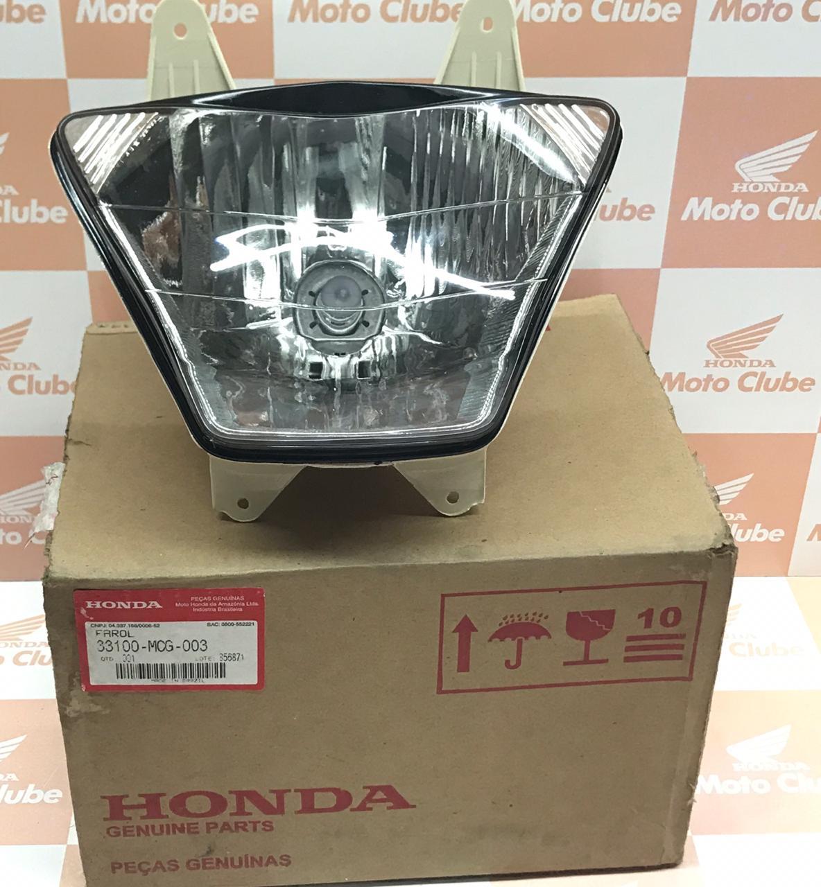 Farol Bloco Óptico NX400 Falcon Original Honda 33100MCG003