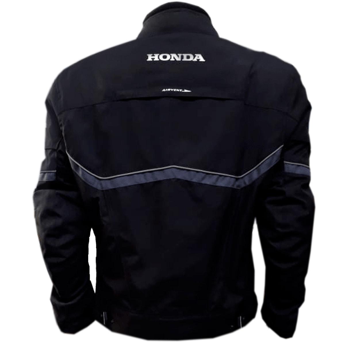Jaqueta Moto Honda Masculina Preta