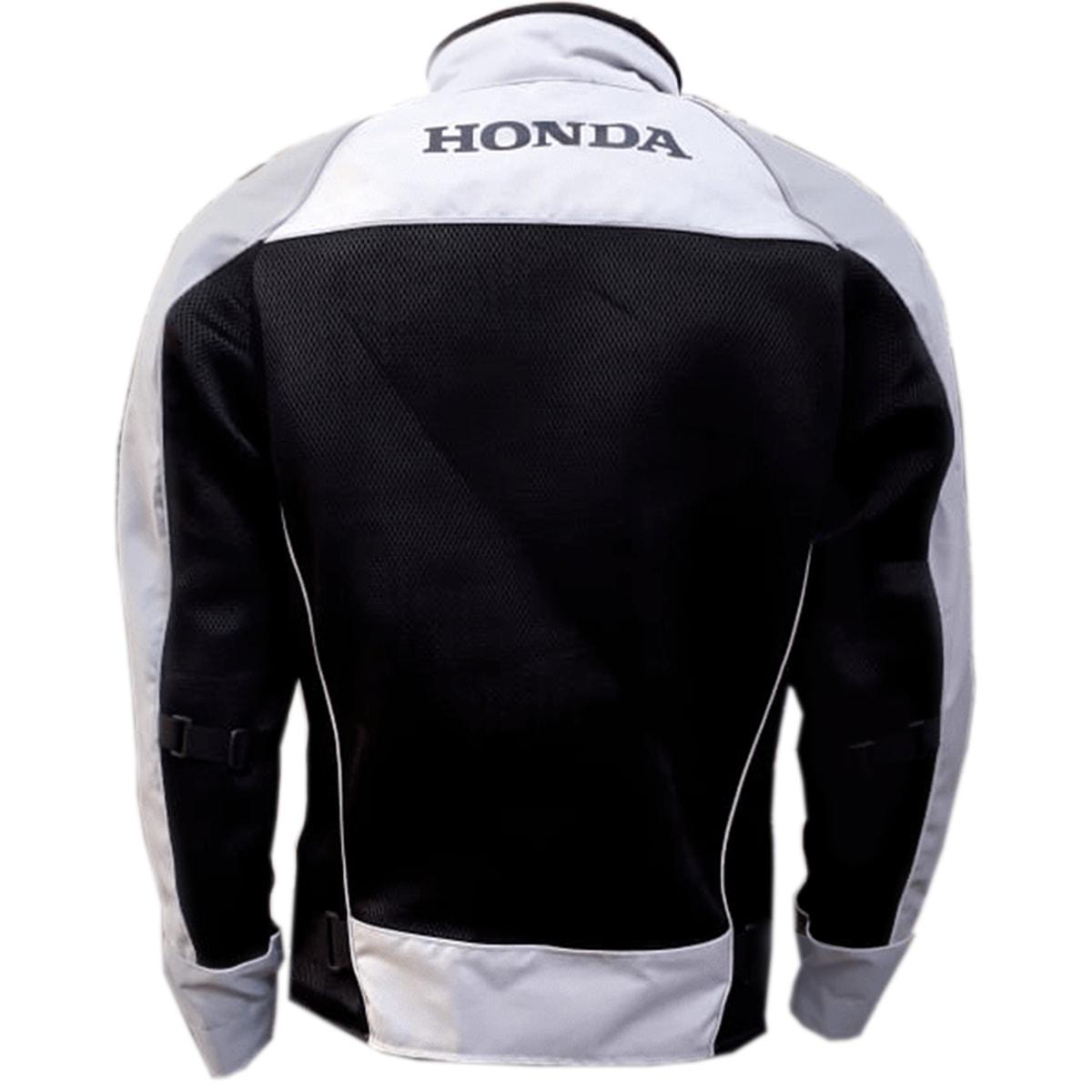 Jaqueta Moto Honda Masculina Cinza