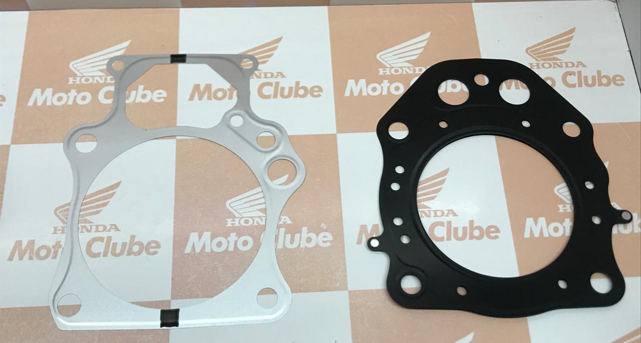 junta Cilindro + Junta Cabeçote Quadriciclo Foutrax TRX 420 Original Honda