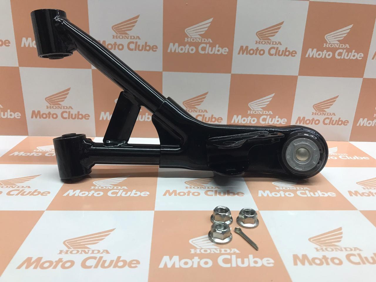 Kit Braço Superior da Suspensão Dianteiro Direito Quadriciclo Fourtrax TRX 420 Original Honda 0513AHP53050
