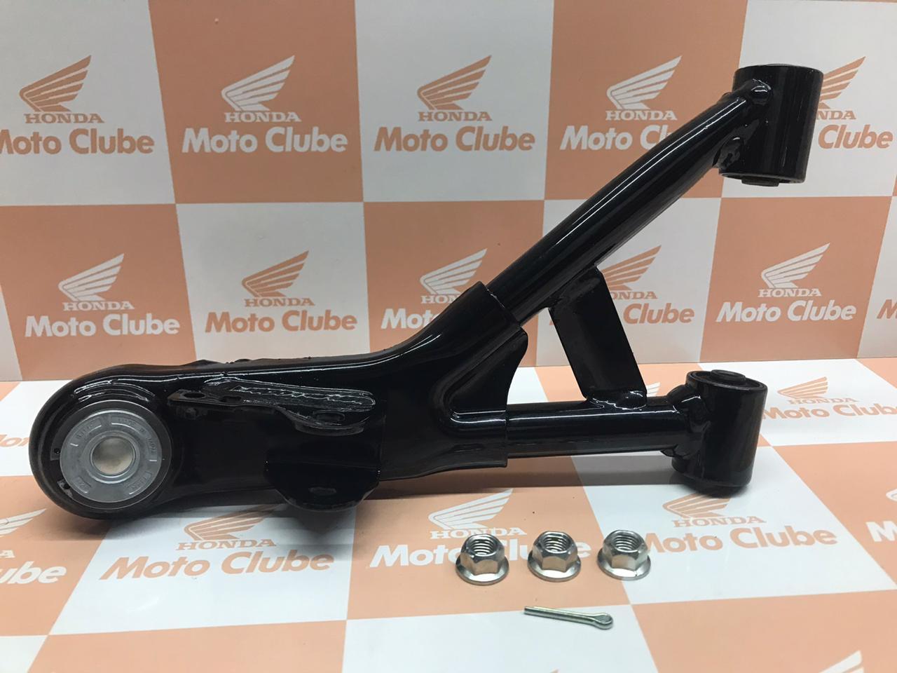 Kit Braço Superior da Suspensão Dianteiro Esquerdo Quadriciclo Fourtrax TRX 420 2008-2013 Original Honda 0513BHP53050