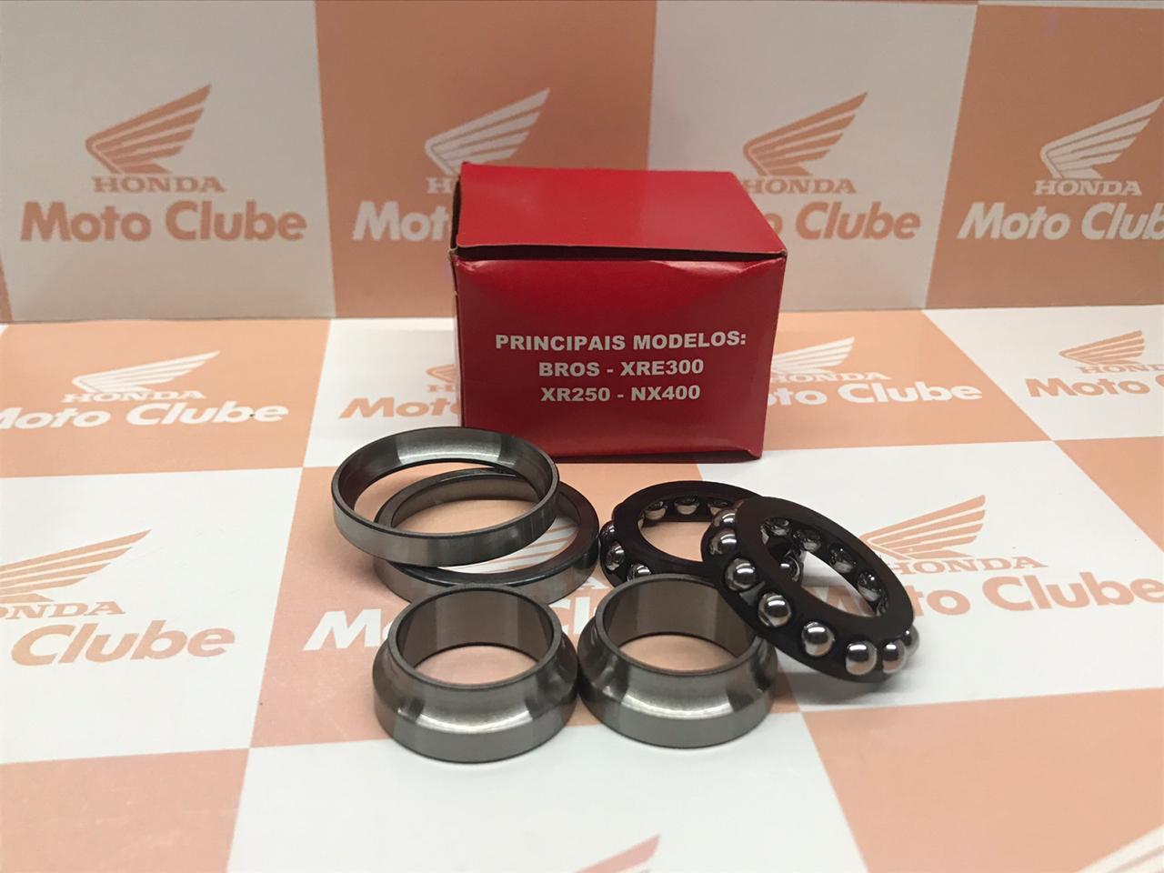 Kit Caixa de Direção NXR Bros 125 150 160 XRE 300 NX 400 Falcon Original Honda H5321KREB00