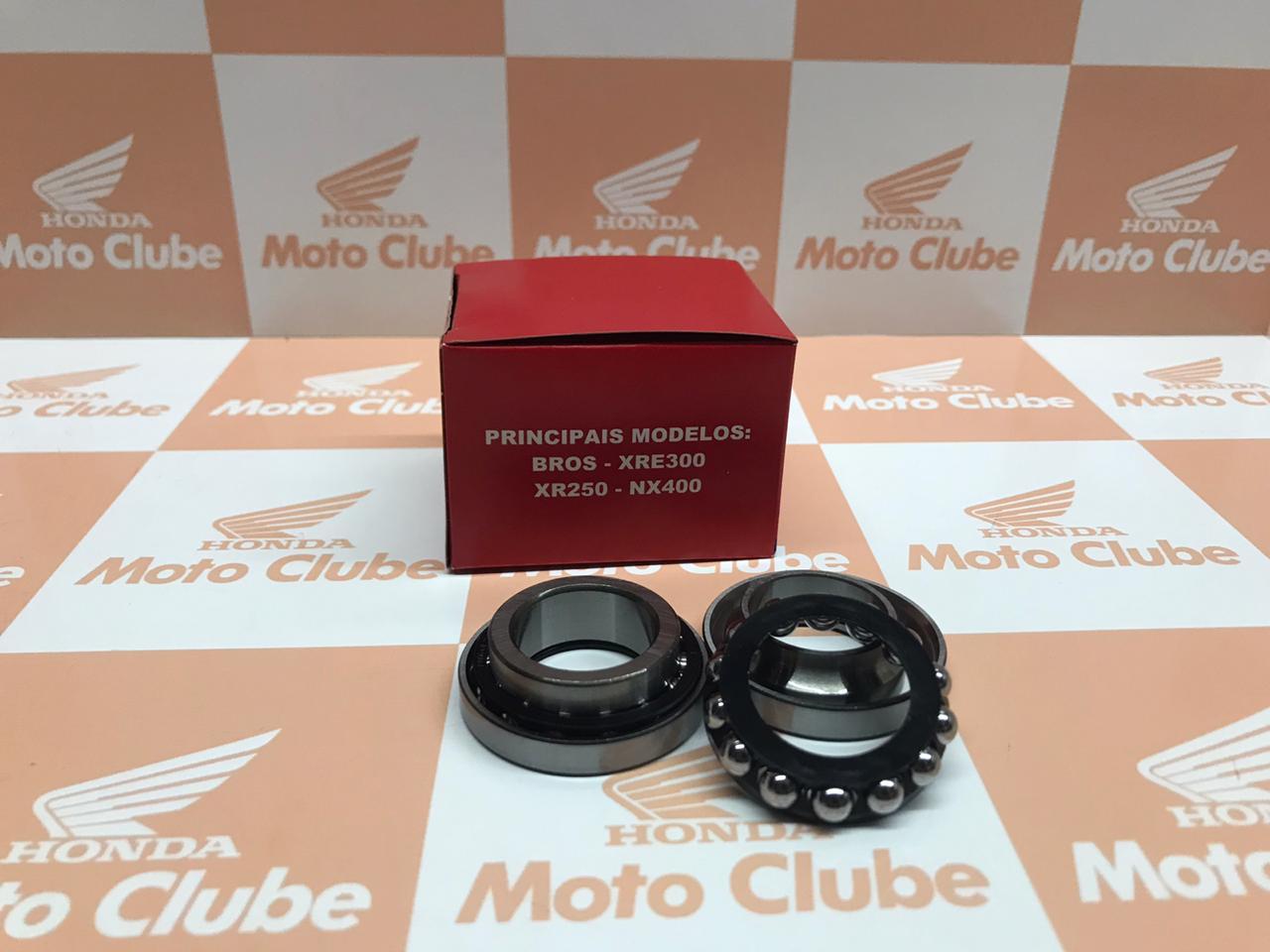 Kit Caixa de Direção Xre 300 NXR Bros 150 e 160 NX 400 Original Honda H5321KREB00