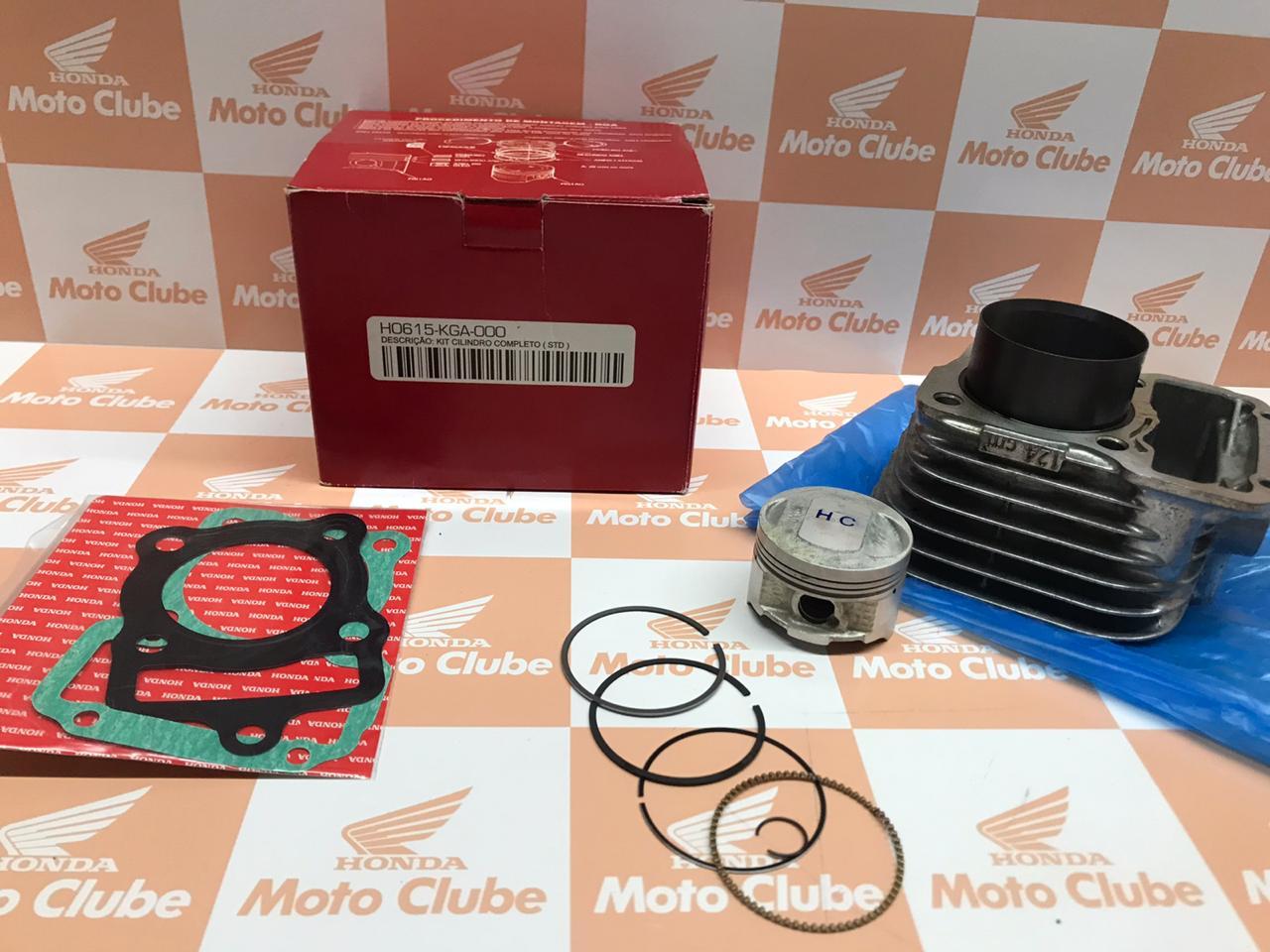 Kit Cilindro CG 125 02-08 Original Honda H0615KGA000