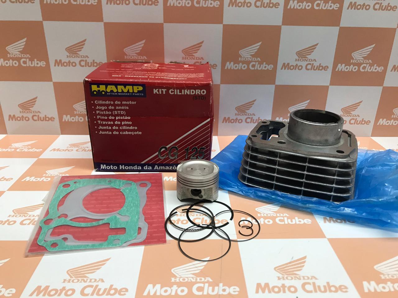 Kit Cilindro CG 125 09-15 Original Honda H0615KWG000