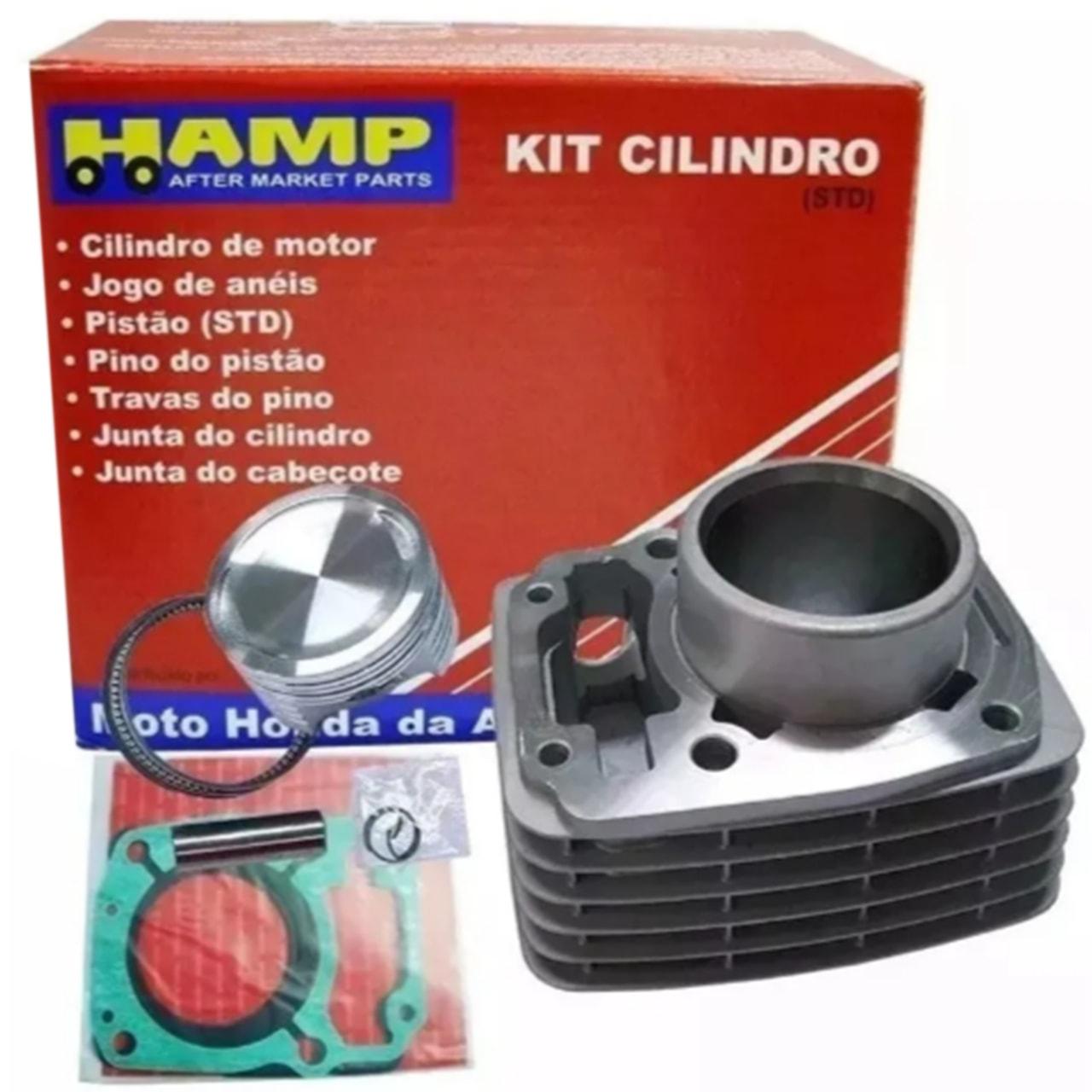 Kit Cilindro CG 150 Titan Fan NXR Bros 150 Original Honda H0615KRM000