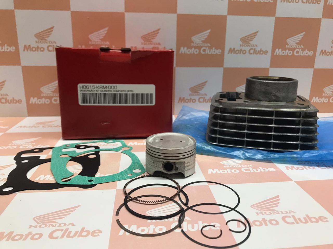 Kit Cilindro CG Titan e Fan 150 NXR Bros 150 Original Honda H0615KRM000