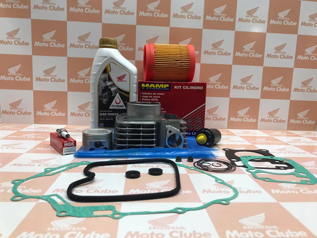 Kit Cilindro Completo CG 150 2004 a 2008