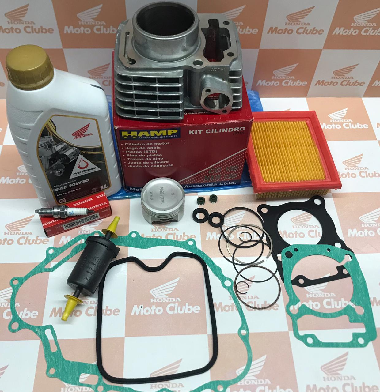Kit Cilindro Completo NXR Bros 150 2009 a  2014  Original Honda