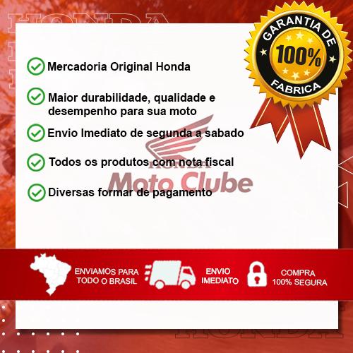 Kit Manopla + Borracha Pedal Apoio + Base Pisca POP 110 2016 2017 2018 2019 2020 Origina Honda
