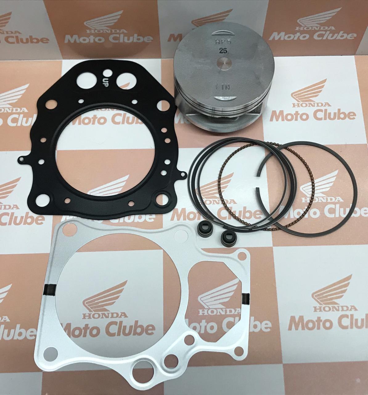 kit Pistão Anéis 0,25 Quadrciclo FourTrax 420 Original Honda