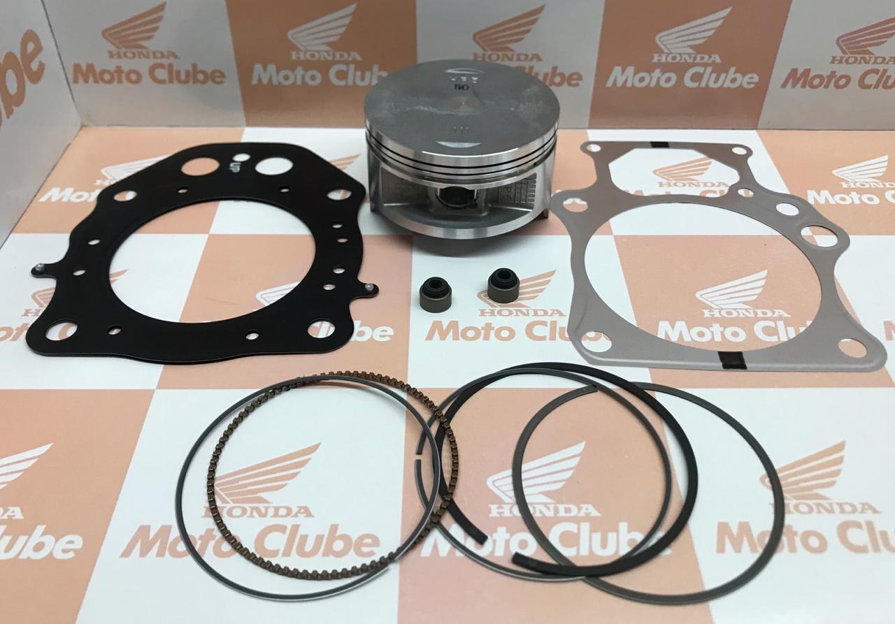 kit Pistão Anéis 0,50 Quadrciclo FourTrax 420 Original Honda